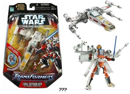 Star Wars x-wing que se transforma um robô?