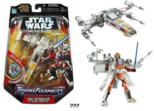 Star Wars x-wing que se transforma um robô?