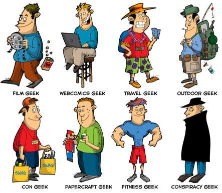 8 geeks que estavam faltando