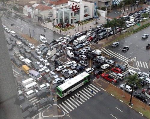 Deadlock no trânsito