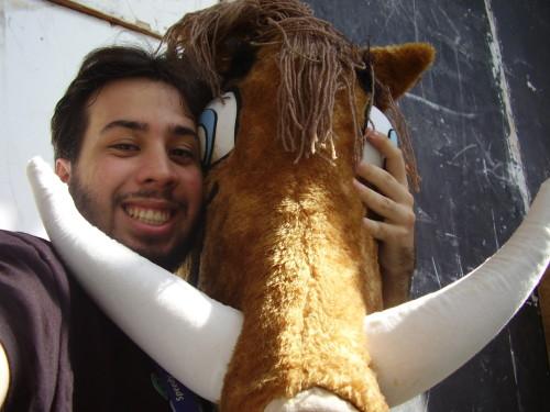 Eu e o Javali