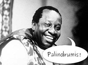 Mussum é palindrome