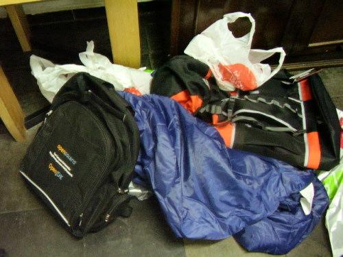 Minhas coisas para o Campus Party