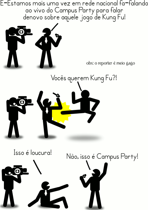 Kung fu party