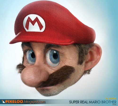E se o Mario fosse real?