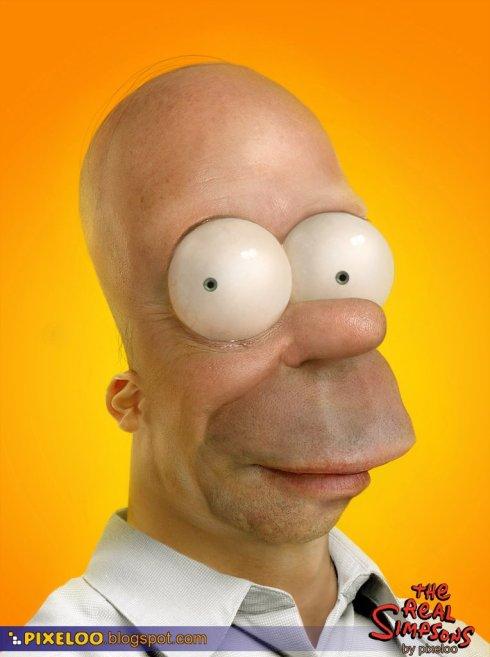 Homer Simpsom de verdade
